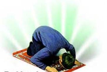 کمک شیطان به نمازگزار !