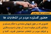 عکس نوشته های انتخابات در کلام رهبری